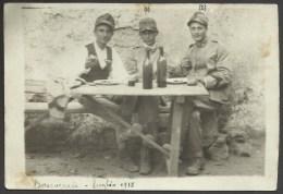 Militari A Pranzo - Boscoreale (NA) Luglio 1918 - Napoli (Napels)