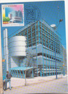 ** EXPOSITION UNIVERSELLE DE SEVILLE 1992 **  Yvrt N° 1247 Carte Maximum LUXEMBOURG 1992 - 1992 – Sevilla (España)