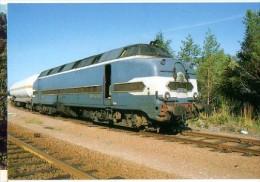 CP Trains - 17 Ch Maritime - CC 65006 Manoeuvre Une Citerne - Le Douhet-Ecoyeux - Cp N° 158 - Other Municipalities