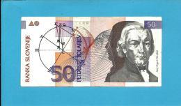 SLOVENIA - 50 TOLARJEV - 1992 - Pick 13 - Prefix EZ ( Replacement ??? ) - Banka Slovenije - 2 Scans - Slovénie