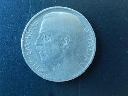50 Centesimi 1920 R, Italie - Tranche Striée - TB - 1900-1946 : Víctor Emmanuel III & Umberto II