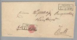 Heimat Polen Graetz Posen 1867-07-09 Brief Nach Buk - Pologne