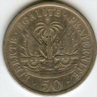 Haïti 50 Centimes 1908 KM 56 - Haïti