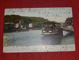 DINANT -    Le Bateau Namur-Touristes   -  1907   - (2 Scans) - Dinant