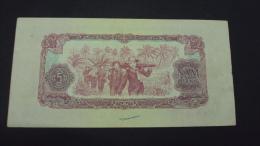 Viet Nam Vietnam South 5 Dong EF Banknote 1963 -P#R6 / 02 Images - Vietnam