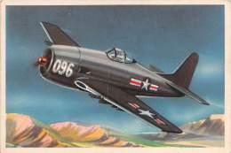 "03718 ""14 - GRUMMAN F8F  - BEARCAT  (AEREO DA CACCIA)- S.I.D.A.M. TORINO - AEREI D'OGGI"" FIGURINA CARTONATA ORIGINALE. - Motori"