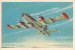 """03721 """"18 - P 2V-3 NEPTUNE (BOMBARDIERE - RICOGNITORE) - S.I.D.A.M. TORINO - AEREI D'OGGI"""" FIGURINA CARTONATA ORIGINALE. - Motori"""