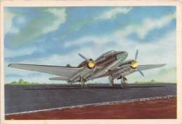 """03722 """"19 - CANT-Z 1018 (BOMBARDIERE) - S.I.D.A.M. TORINO - AEREI D'OGGI"""" FIGURINA CARTONATA ORIGINALE. - Motori"""