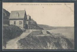 CPA 22 - Trestraou, La Corniche Le Long De La Falaise - Frankreich