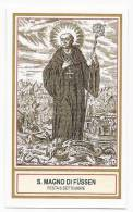 Santino San Magno Di Fussen -  Holy Card - Image Pieuse - Andachtsbilder - Images Religieuses
