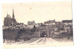 27 CONCHES- Vue Panoramique Et Entrée Du Tunnel TTB Neuve - Conches-en-Ouche
