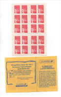 CARNETDE 20 TIMBRES  LUQUET TYPE 1 REF Y T 3085 C 2 - Carnets