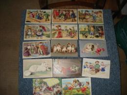 Beau Lot De 23 Cpa , Theme Chats Illustration Et Chats Humanises - Cartes Postales