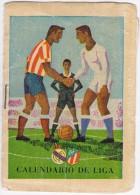 CALENDARIO De LIGA - ESPANA - FUTBOL - Primera Division, 2e; Division - SOCCER - 1962/1963 - Petit Format : 1961-70
