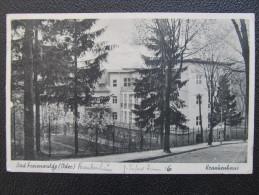 AK BAD FREIENWALDE Krankenhaus 1942  ///// D*16957 - Bad Freienwalde