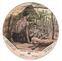 Belgisch Congo Belge Collectie La Vache Qui Rit 45 - Autres Collections