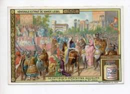 Chromo - Liébig - Le Carnaval à Différentes époques - Champ De Mai Sous Charlemagne Au IX° Siècle - Liebig