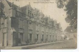 PIERRE-FUFFIERE - CHATEAU DE PUY-MORRI  ( Tampon Militaire: REGIMENT DE CHASSEURS - AUCH ) - Pierre Buffiere