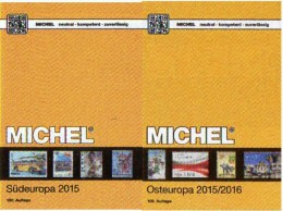 Süd/Ost-Europa Katalog 2015/2016 Neu 132€ MICHEL Band 3+7 AL I Fiume YU KRO Malta SRB Vatikan PL Russia USSR UA Moldawia - Pastels