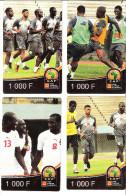 Senegal /Orange : CAF 2012  4 Motive 1000 F, used