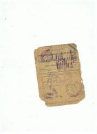 CARTE DE RAPATRIE MILITAIRE DE LILLE (NORD)   13 MARS  1945 - 1939-45