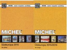 Süd/Ost-Europa Katalog 2015/2016 Neu 132€ MICHEL Band 3+7 AL I Fiume YU KRO Malta SRB Vatikan PL Russia USSR UA Moldawia - Livres & CDs