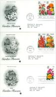United States 1994 Garden Flowers FDC - Lot USA911 - Ersttagsbelege (FDC)