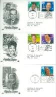 United States 1994 Popular Singers FDC - Lot USA914 - Ersttagsbelege (FDC)