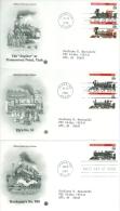 United States 1994 Old Steame Engine, Train FDC - Lot USA915 - Ersttagsbelege (FDC)