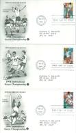 United States 1994 International Soccer Championship FDC - Lot USA916 - Ersttagsbelege (FDC)
