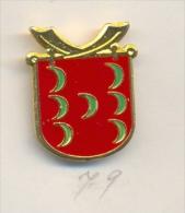 13-fiest79. Pin Escudo 7 Lunas - Pin