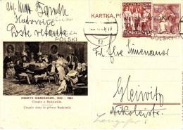 POLAND 1938 Cp 86-57 Used - Ganzsachen