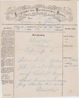 ALLEMAGNE TELEGRAM 1869 BRESLAU - Norddeutscher Postbezirk