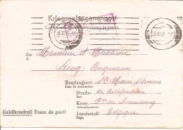 Kriegsgefangenenpost Prisonnier Stalag XVII B GNEIXENDORF Krems 1943 + Censures FIXED PRICE ! - Weltkrieg 1939-45