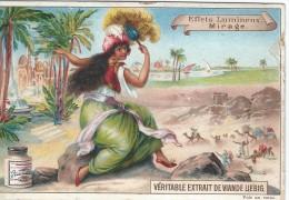Images/Chromo/Effets Lumineux/Mirage/Cie Liebig/Sanguinetti N° 515/ Vers 1895   LBG2 - Liebig