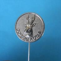 HUNTING Pin Badge Chasse Jagd Caccia Caza Hunt Deer Chevreuils Ciervo Cervo Hirsch Hert Chevreuil Roe Hueva Capriolo Reh - Pin
