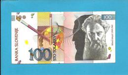 SLOVENIA - 100 TOLARJEV - 1992 - Pick 14 - Prefix GD - Banka Slovenije - 2 Scans - Slovénie
