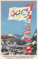 Garmisch / Color Gel.1936 Zugspitzgruppe Winterolympiade - Garmisch-Partenkirchen