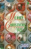 Malaysia (Uniphonekad) - Merry Christmas '93, 66MSAA, 1993, 200.000ex, Used - Malaysia