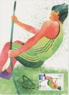Australia Maximum Card Mi 3770 - Postal Stationery - Olympic Games, London - Pole Vault - 2012 - Maximumkaarten