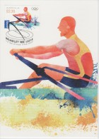 Australia Maximum Card Mi 3771 - Postal Stationery - Olympic Games, London - Rowing - 2012 - Maximumkaarten