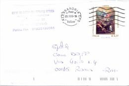 UNIONE CASTELLI TRA L'ORBA E LA BORMIDA - 15070- TRISOBBIO- LS - 2003- FTO 12X17 - TEMATICA TOPIC STORIA COMUNI D´ITALIA - Affrancature Meccaniche Rosse (EMA)