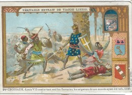 Images/Chromo/2 éme Croisade/Cie Liebig/Sanguinetti N° 512/ Vers 1895   LBG3 - Liebig
