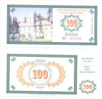 PHANTASY BANKNOTE  100 BARA YEAR 2011 - Croatia