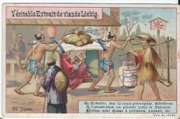 Images/Chromo/Au Japon /Cie Liebig/Sanguinetti N°408/ Vers 1895   LBG5 - Liebig