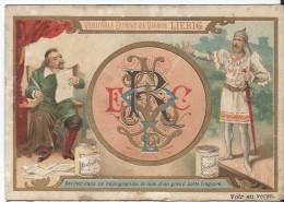 Images/Chromo/Monogramme /Cie Liebig/Sanguinetti N°414/ Vers 1895   LBG6 - Liebig