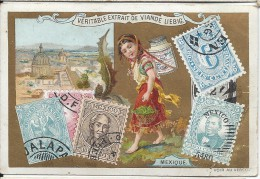 Images/Chromo/Mexique/Cie Liebig/Sanguinetti N°521/ Vers 1895   LBG14 - Liebig