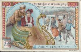 Images/Chromo/Plaisirs D'été Et D'Hiver/Traineau/Cie Liebig/Sanguinetti N°530/ Vers 1895   LBG15 - Liebig