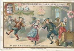 Images/Chromo/Scénes Hollandaises/Yne Noce /Cie Liebig/Sanguinetti N°674/ Vers 1895   LBG17 - Liebig