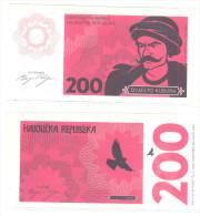PHANTASY BANKNOTE  200 KUBURA -PISTOL-FIRELOCK-DESPERADO-HIGWAYMAN REPUBLIC - Bosnia And Herzegovina